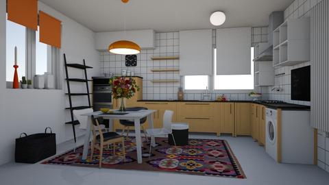 ORANGE - Kitchen  - by EDeb