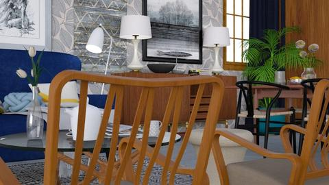 Vintage lounge - Vintage - Living room  - by HenkRetro1960