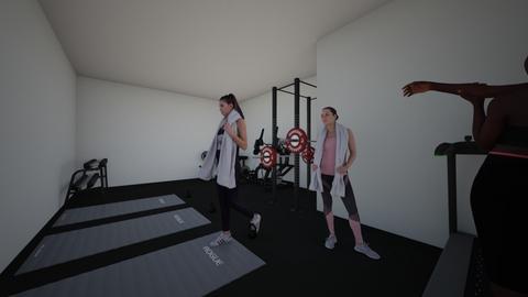 my basement gym - Modern - by Catelynn132
