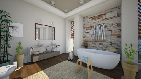 Salla de Bains - Bedroom  - by Ania Daliva