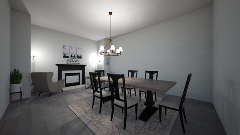 rustic - Rustic - Living room  - by kenl