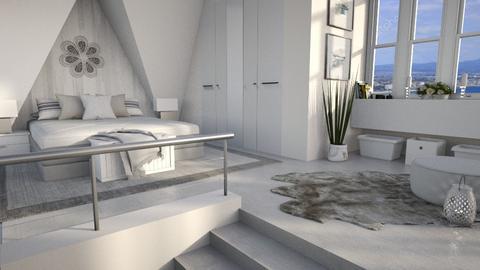 Sloping Ceiling - Bedroom  - by bigmama14