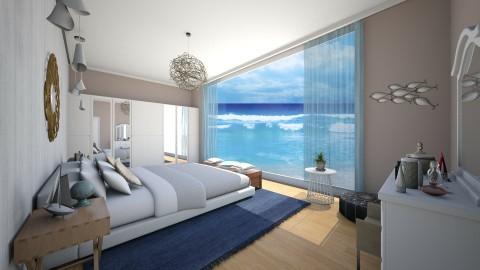 A Piece of Paradise - Modern - Bedroom  - by DeborahArmelin