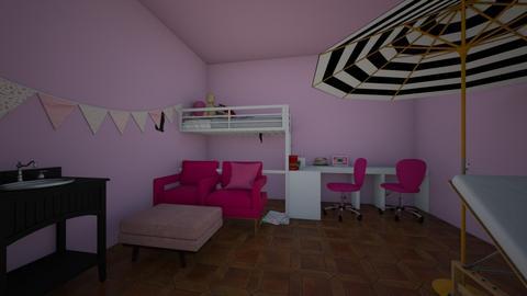 marinettes room - Minimal - Bedroom  - by adrinetteshipper1214
