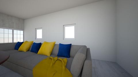 bright Thunder Room - Modern - Living room  - by SMRiley
