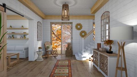 autumn_hallway - by psari