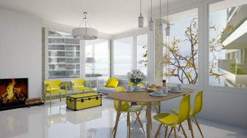 The Interlace Livingroom - by Anna Karine
