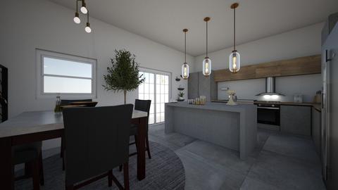 modern kitchen - Kitchen  - by PeculiarLeah