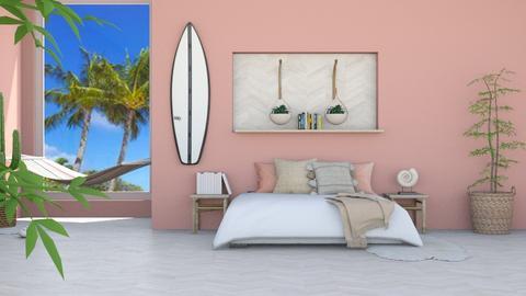 b e a c h_b e d r o o m - Modern - Bedroom  - by Marlisa Jansen