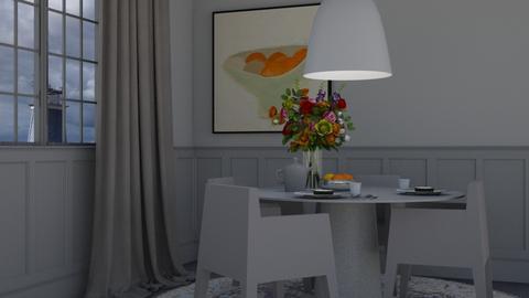 Greyscale 2020 - Minimal - Dining room  - by HenkRetro1960