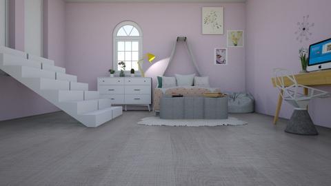 teen princess bedroom - Feminine - Kids room  - by aschaper