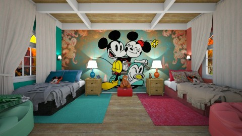 mickey mouse - Kids room  - by rasty