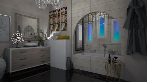 natual - Vintage - Bathroom  - by vallequeen