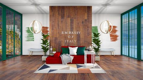 Embassy Of Italy - Classic - Living room  - by evabarrett