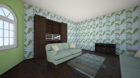 Tropic - Living room - by 21shelbrin