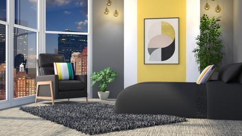 Maharam Pillow - Modern - Bedroom  - by millerfam