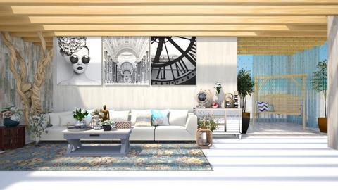 beach living - Living room  - by nihalruttala