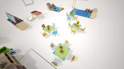 Aula Escola bressol - Kids room  - by albamch