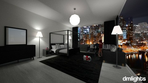 train view - Bedroom - by DMLights-user-1381324