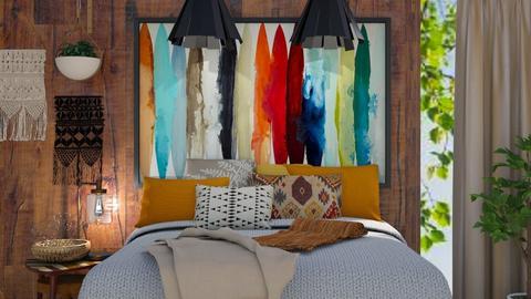 Pocahontas Room - Bedroom  - by Rebekah Pincock