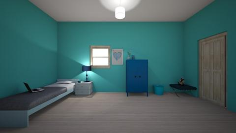 blue island - Classic - Kids room  - by deleted_1603149910_licorice123