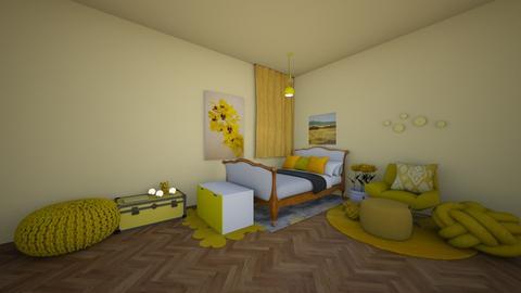 Yellow - Bedroom  - by RoseGrangerWeasly