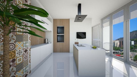 Kitchen Vix - Modern - Kitchen  - by Valeska Stieg