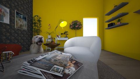 Wonderland - Living room  - by litoreus