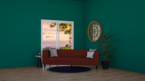 forest living area - Living room  - by Popcorn popstar