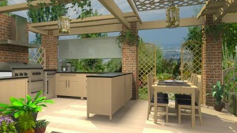 Outdoor Kitchen - Modern - Garden  - by cristianyansen