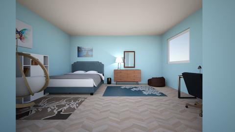First Design  - Bedroom  - by LiljRey13
