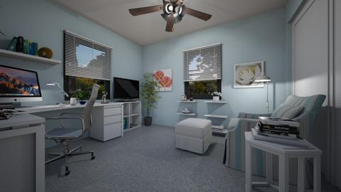 For sherryDN - Eclectic - Office  - by Theadora