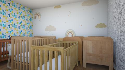 nursery - Minimal - Kids room  - by Happyspaniel