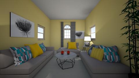 symmetrical - Living room  - by alexispage03_