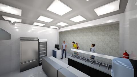 1 - Kitchen  - by benwazzan