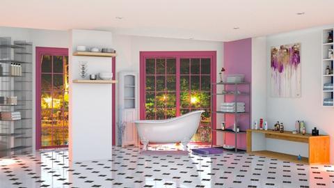 Lavender bath - by Nari31