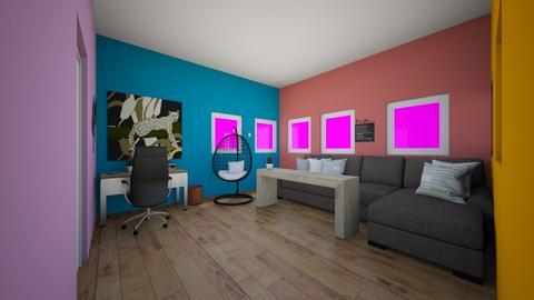 Tropic - Office  - by Drachenmaedchen