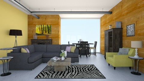 Simple Modern - Living room - by Iggy0529