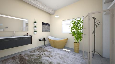 Tan Bathroom  - Minimal - Bathroom  - by Merdog