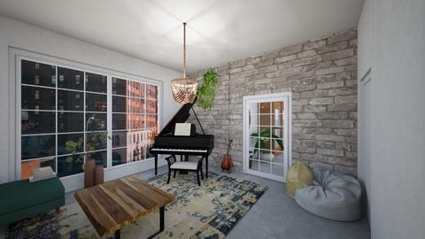 living room 3 - Living room  - by BlokhEphroni