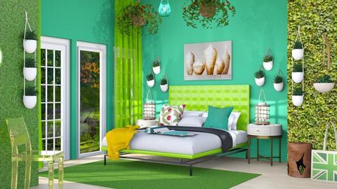 Green room - by Nari31