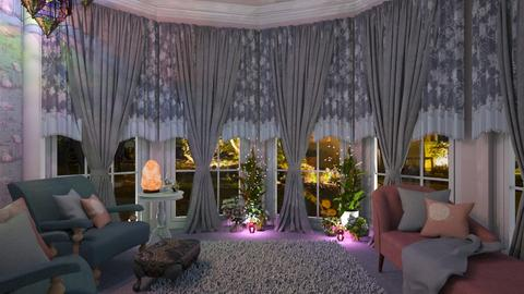 soft living - Feminine - Living room  - by donella