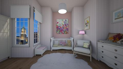 baby minnie mouse room - Country - Bedroom  - by nuray kalkan