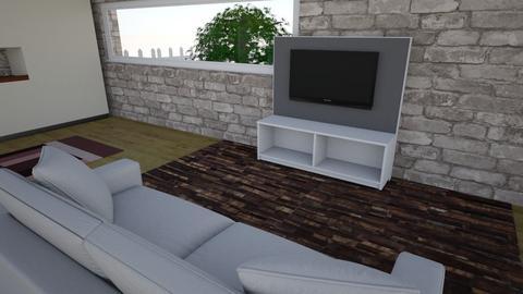 Casa dels meus somnis - Living room - by etelbruk