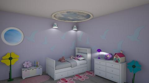 Beautiful Dreams - Kids room  - by KarJef