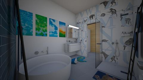 Zen_kids bathroom2 - Bathroom  - by lovasemoke
