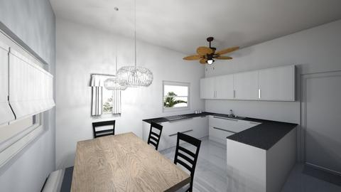 small kitchen  - Minimal - Kitchen  - by M_L_A