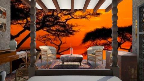 Safari Tent - Bedroom - by whodat1910