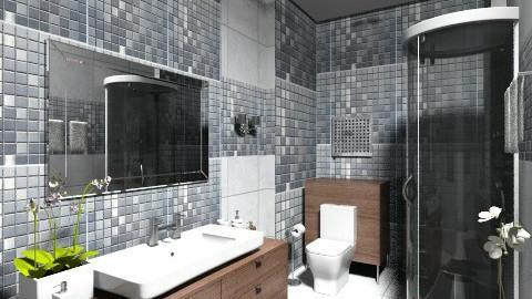 duzelis7 - Modern - Bathroom  - by Firuza Eva