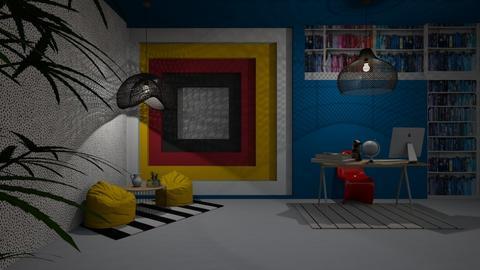 15_Night - Office  - by Yudum Kutlu
